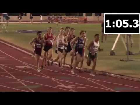 2018 Texas UIL State Meet 6A 1600m