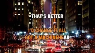 Machinehead in the style of Bush | Karaoke with Lyrics