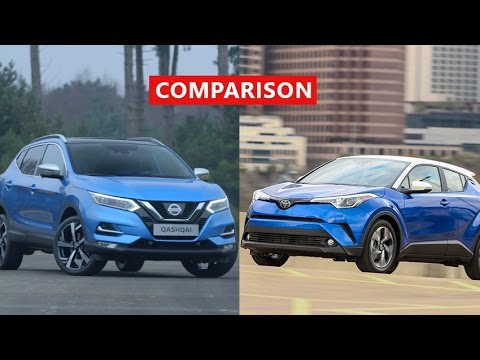2017 Nissan Qashqai vs 2018 Toyota C-HR Comparison ...