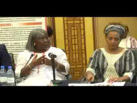 Michaëlle Jean Secrétaire générale de la Francophonie au Sénégal avec RF EFH