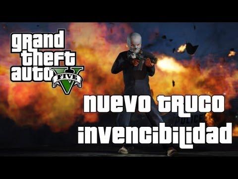 Grand Theft Auto 5: Invincibility Cheat  - Truco Invencibilidad