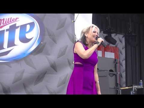 Berlin featuring Terri Nunn-Take My Breath Away live in Milwaukee, WI 7-2-14