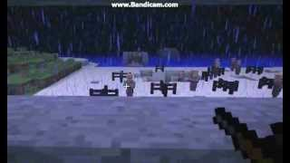 Minecaft D-Day Omaha Beach Normandy