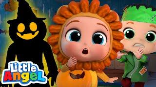 Don't Be Afraid Of Monsters! | Halloween Song | Little Angel Kids Songs & Nursery Rhymes