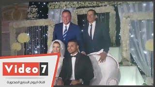 الخطيب أول الحاضرين لحفل زفاف نجل حارس الزمالك السابق وسط مشاركة نجوم الرياضة