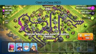 Clash of Clans - Funny Base unik dan Kreatif