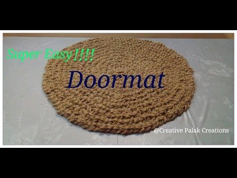Download Doormat DIY idea,Super easy Jute sutli doormat/floormat,सुतली पायदान/चटाई बनाना
