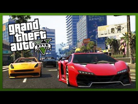 GTA 5 Stunts: Stunt Challenge! - (Episode 12) - (GTA V Stunts & Tricks)