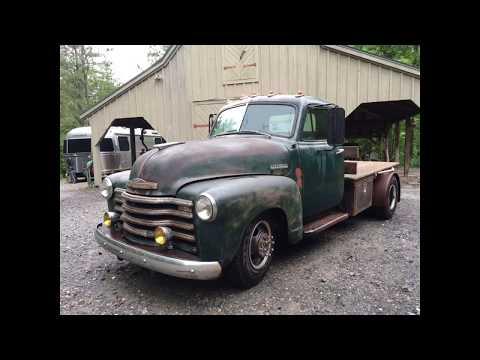 1951 Chevy 3800 1-ton dually truck build
