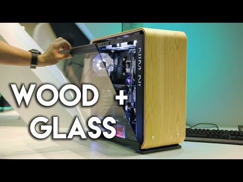 Wood + Glass Cases Are The Future!? // visiting InWin