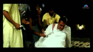 Drunk Sanjay Dutt kills his own man (Hathyar)
