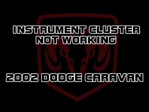 ⭐ 2002 dodge caravan - instrument cluster not working, flickers - youtube
