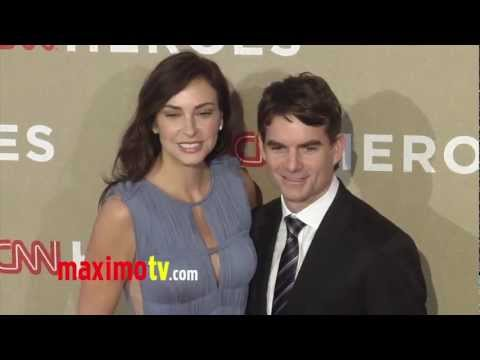 Jeff Gordon And Wife Ingrid Vandebosch At Cnn Heroes An All Star Tribute 2012 Red Carpet Arrivals Youtube