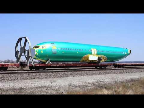 Boeing Fuselage Train