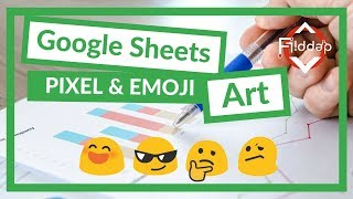 How to Make Pixel art and Emoji art in Google Sheets