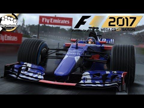 F1 2017 MEGA COOP SAISON - Japan-Test : Qualifying - Let's Play F1 2017 Mega Coop