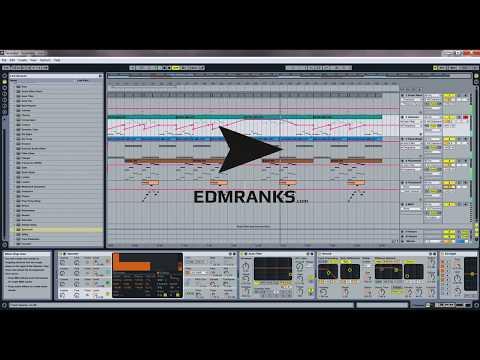 Tiesto - Nyanna (Remake in Ableton With Default Audio Plugins)