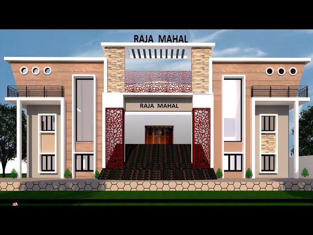 Marriage Hall Construction Progress | East Facing Marriage Hall | Under Construction