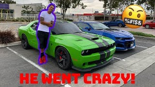 Tall Guy Car Reviews Drove My 1000Hp Hellcat & Went CRAZY!!