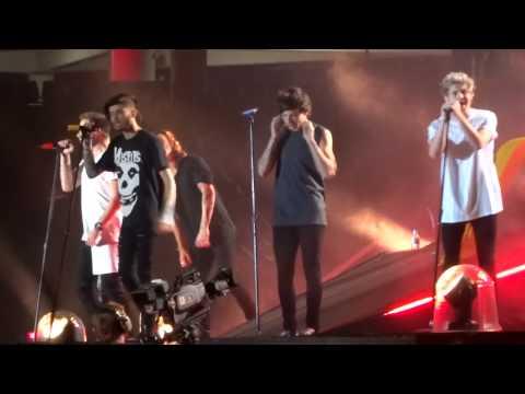 One Direction - Through The Dark - OTRA 7-2-15 Sydney HD