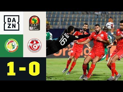 Tunesien-Keeper Hassen vom Held zur Nullnummer: Senegal - Tunesien 1:0 | Afrika Cup | DAZN