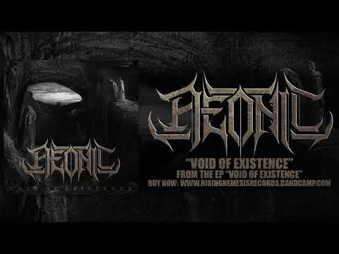 AEONIC - VOID OF EXISTENCE (NEW SONG 2017) Rising Nemesis Records