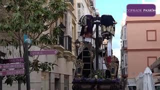 Stmo. Cristo del Descendimiento por Pl. de las Flores y Pelota (Semana Santa Cádiz 2019)