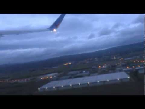 Take Off From Grenoble Airport