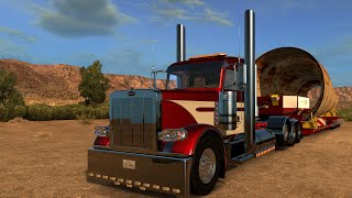 American Truck Simulator HEAVY HAUL/PETERBILT 389 1.13 BY VIPER2