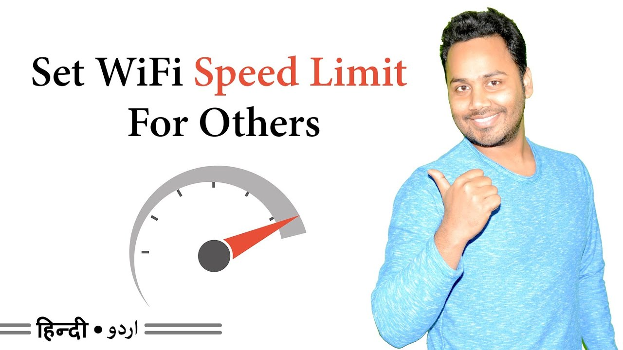 How To Limit WiFi Speed For Others - Tp-Link [Hindi / Urdu] - YouTube