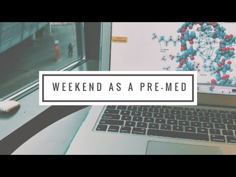 college vlog: weekend as a pre-med student | University of Cincinnati