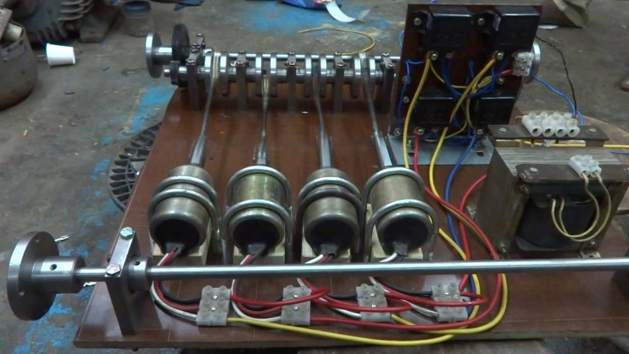 Mechanical Engg Project (Electromagnetic car)