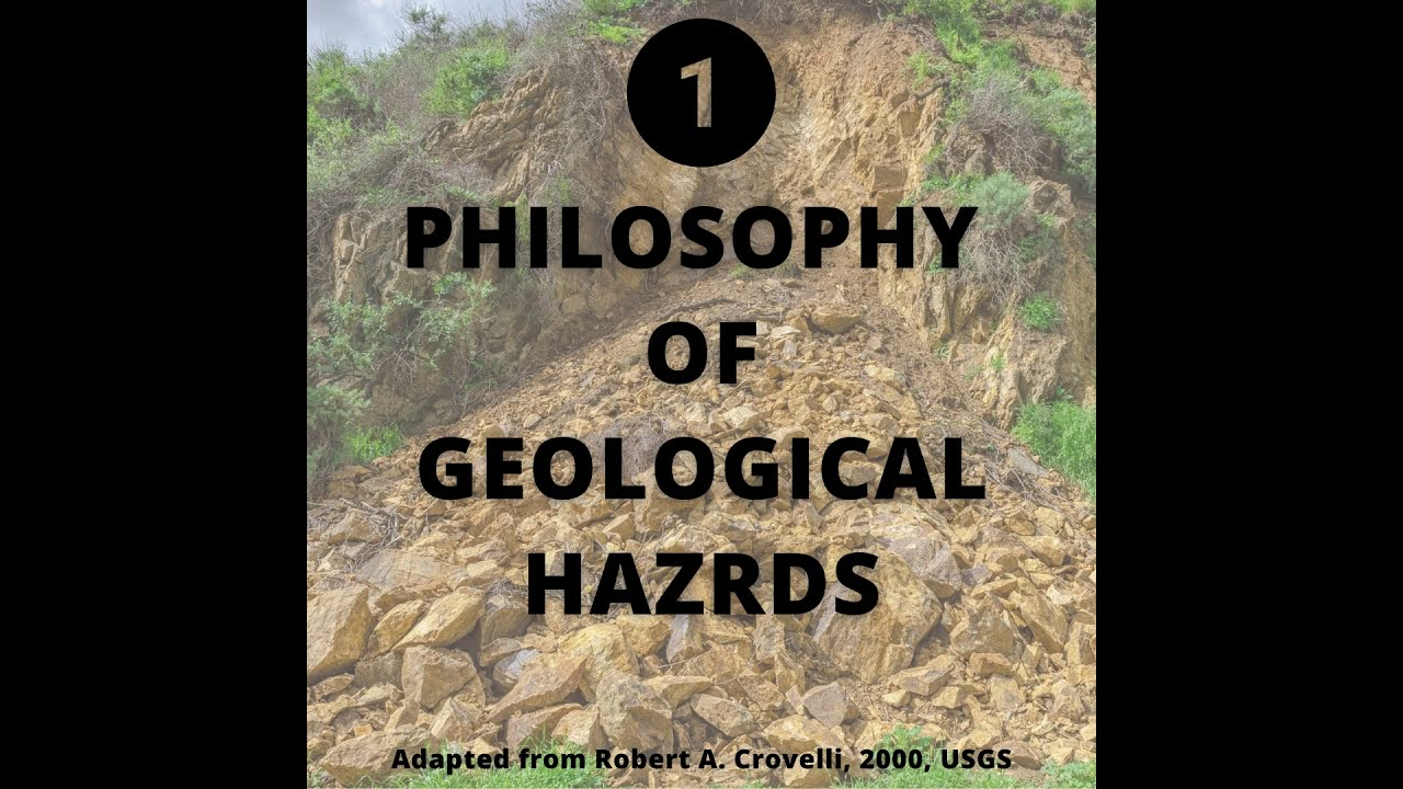 Philosophy of Probabilistic Modeling of Geological Hazards