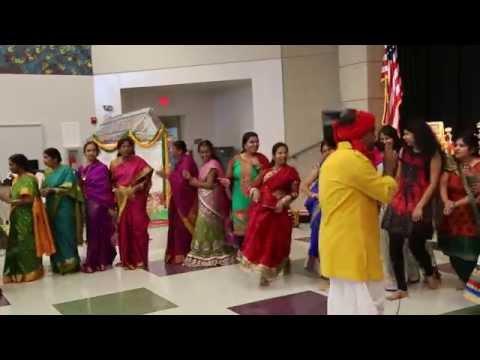 Bikshu Naik Performance @ Kansas City 4th Annual Batukamma 2014