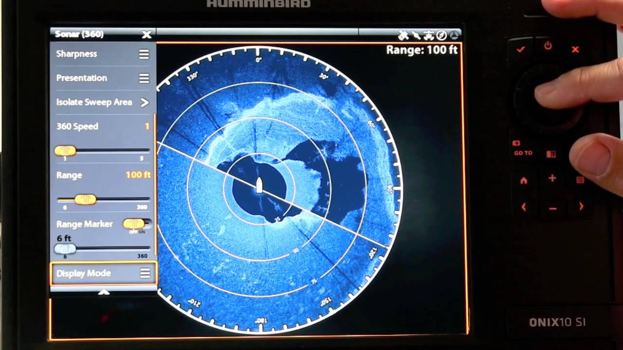 the technological angler: using 360 imaging with onix - youtube, Fish Finder
