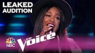 The Voice 2017 - Keisha Renee Blind Audition: