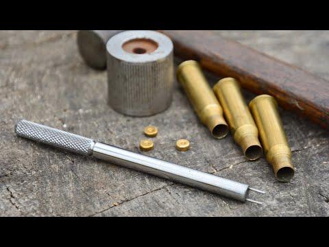 """Как """"всухую"""" выбить капсюль """"Бердан"""" из отечественной винтовочной гильзы? Релоуд 7,62х54R"""