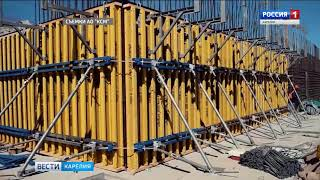 В Карелии полным ходом идет строительство двух малых ГЭС