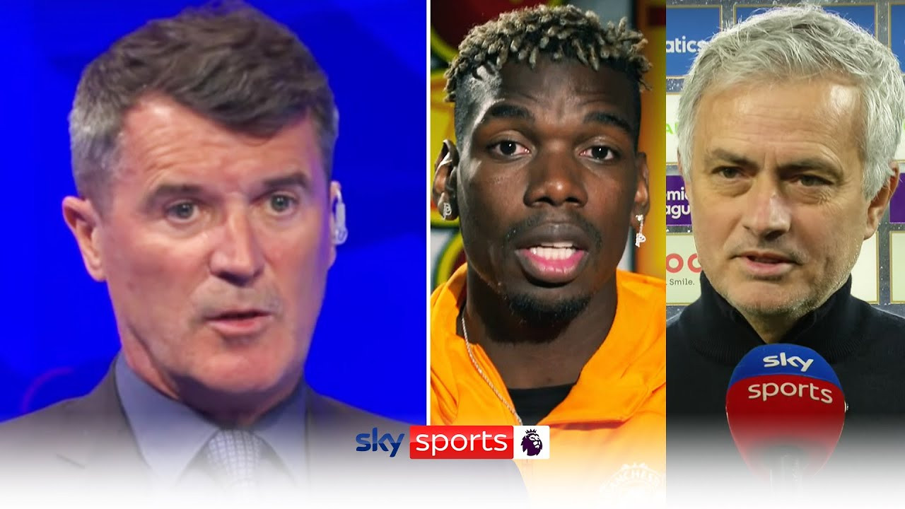 Download Roy Keane reacts to Paul Pogba's comments on Jose Mourinho 👀