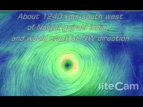 "Arabian sea Depression intensifies into ""CYCLONE NILOFER"""
