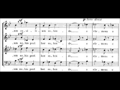 Salve Regina - F. Poulenc (sheet)