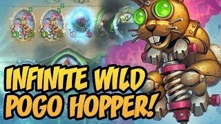 Infinite Wild Pogo Hopper!   Saviors of Uldum   Hearthstone