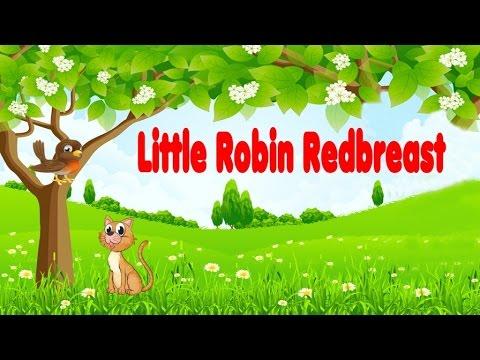 LITTLE ROBIN REDBREAST: Best Nursery Rhymes - Famous Songs for Kids