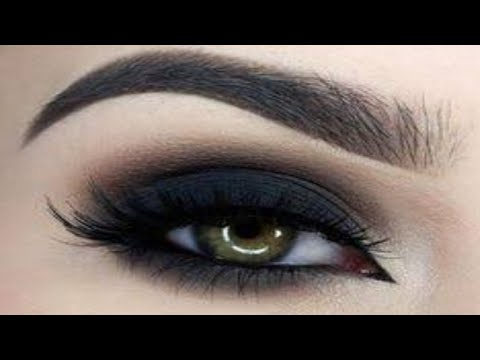 easy smokey eye makeup tutorial / simple and easy black