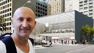 Je Visite l'Apple Store de San Francisco !