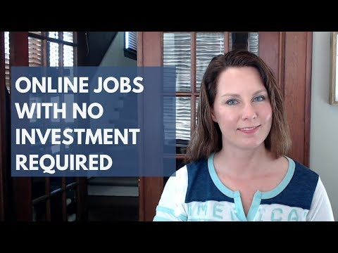 U.S. Work from Home Jobs Without Investment