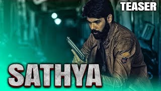 Sathya (2019) Official Hindi Dubbed Teaser   Sibi Sathyaraj, Ramya Nambeesan, Sathish, Varalaxmi