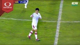 Gol de Alejandro Zendejas | Cafetaleros 1 - 1 Chivas | Copa MX - J6 - Cl19 | Televisa Deportes
