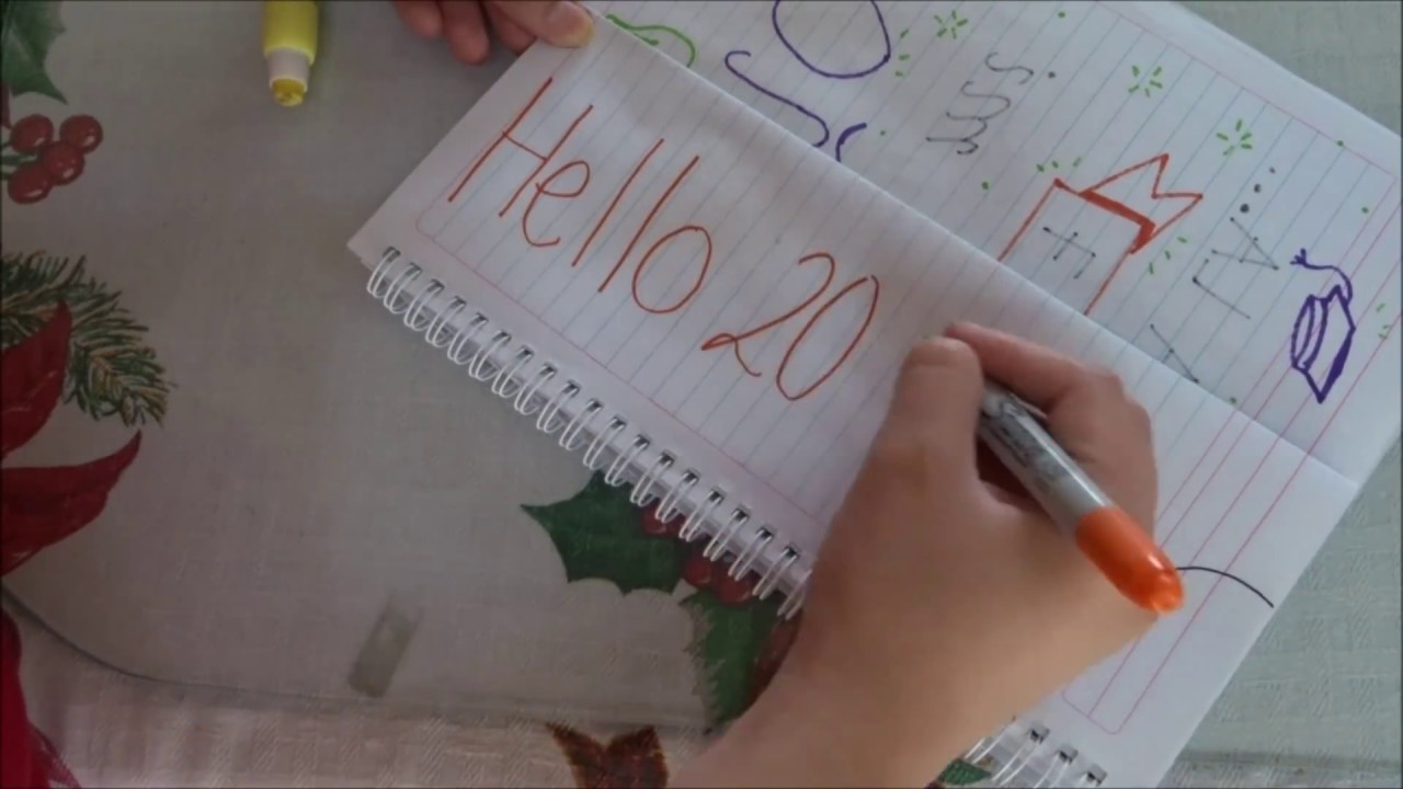 Separadores De Libretas Año Nuevo Diy Cuadernos Año Nuevo