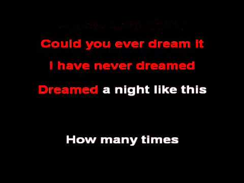 Caro Emerald - A Night Like This (karaoke)